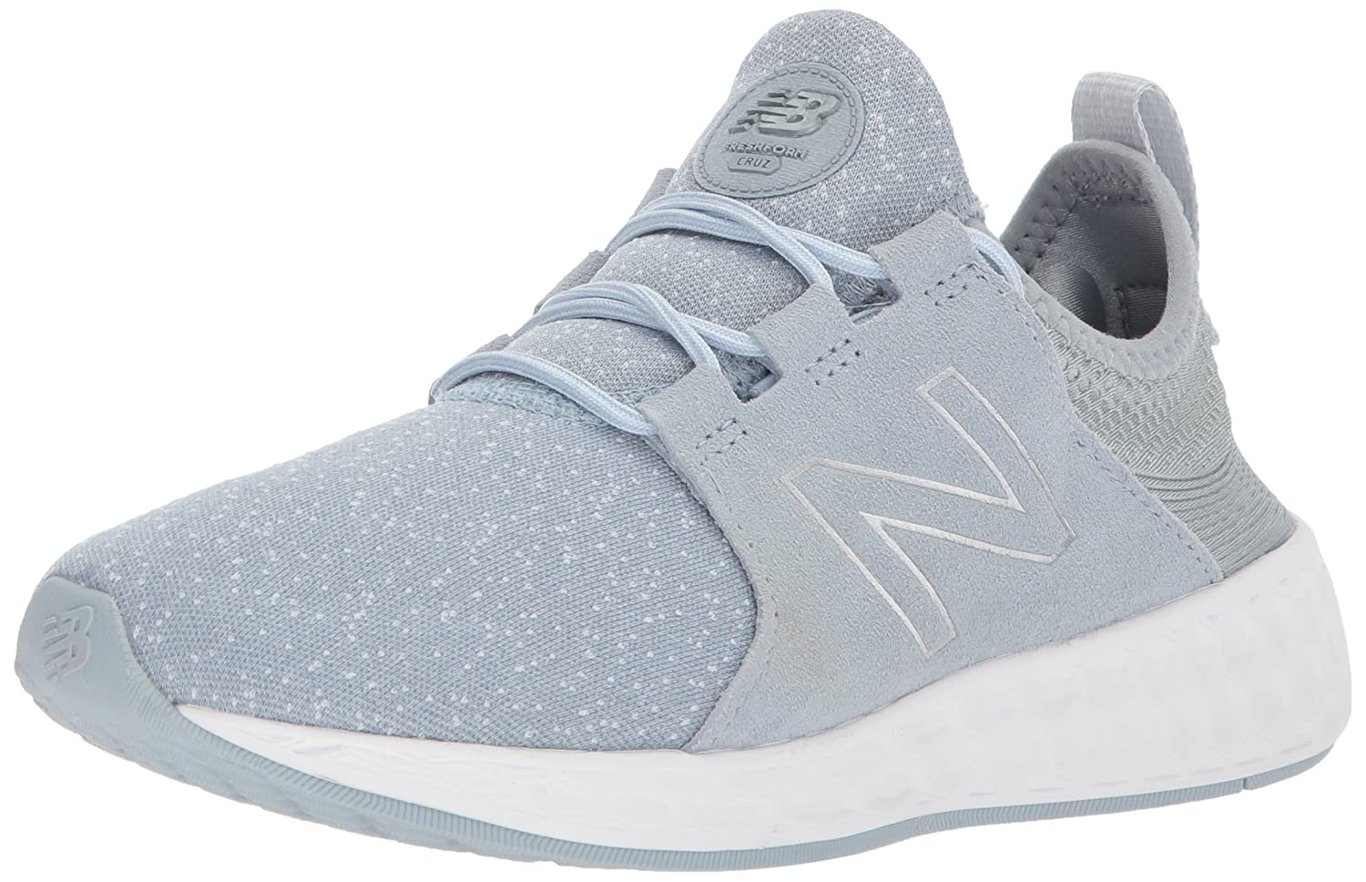 New Balance Women's Fresh Foam Cruz V1 Retro Hoodie Running Shoe B06XXCBF34 6 B(M) US|Grey With Pigment