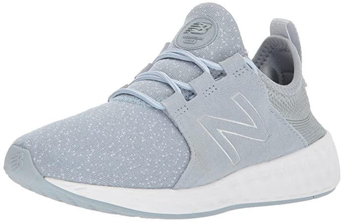 New Balance Fresh Foam Cruz Sport Pack Reflective Sneakers Laufschuhe Damen Blau Metallic Porzellan