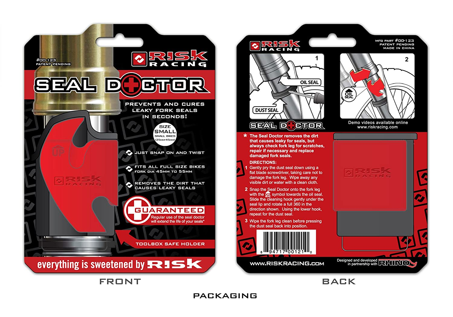 Risk Racing 00-213 Small 35mm 45mm Seal Doctor