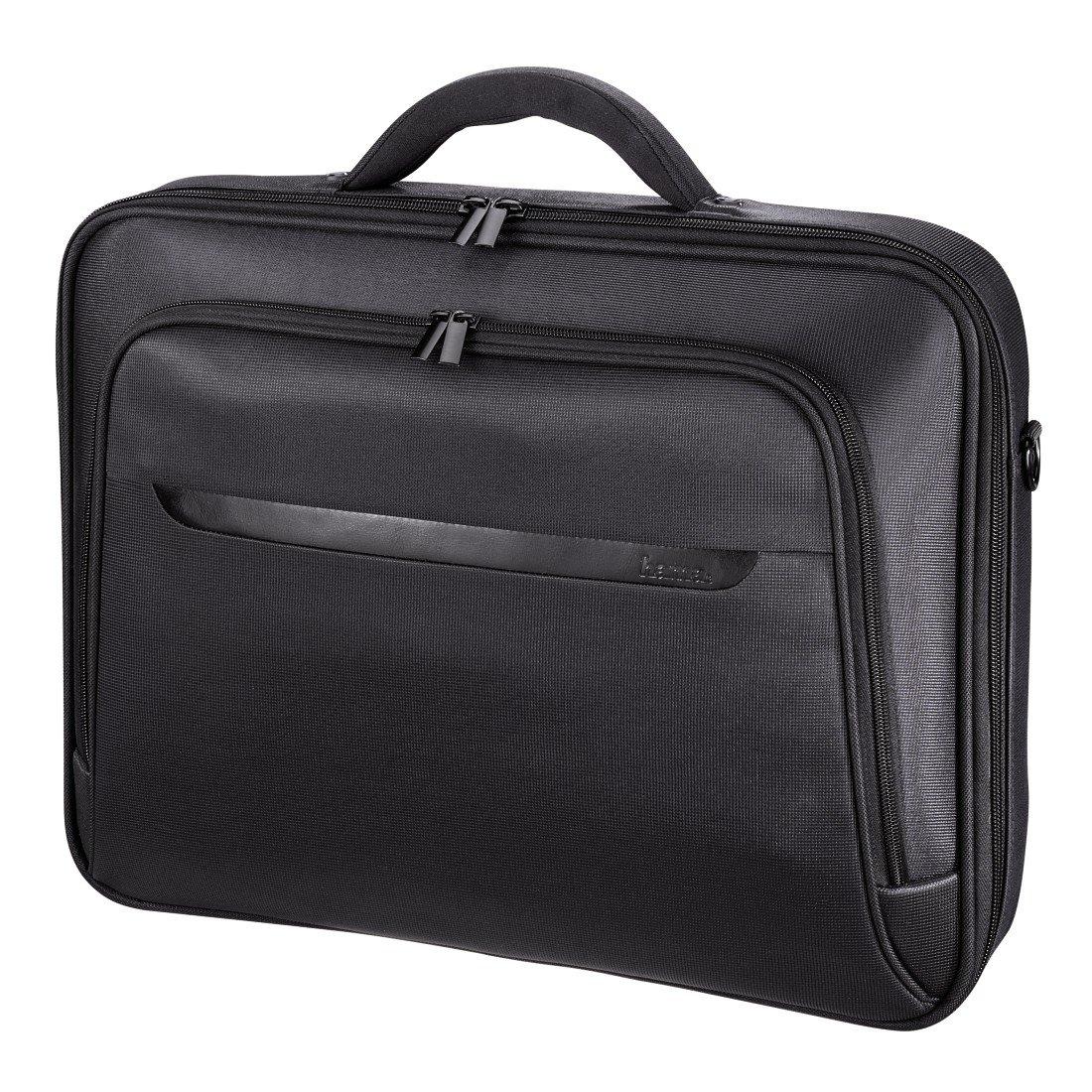 Hama Notebooktasche Miami Life für Laptop / Tablet mit Bildschirmdiagonale 17,3 Zoll / 44 cm, Laptoptasche schwarz 00101219