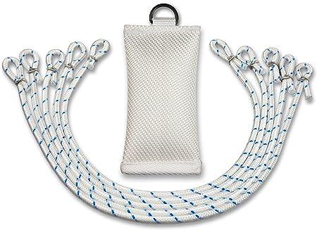FBS 5 Fahnenschlingen Fahnenführungsringe für Fahnenmasten bis 100mm Durchmesser