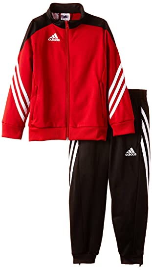 Adidas Boys Sereno 14 Tracksuit - University Red Black White d0c5a0e1620