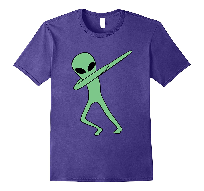 Dabbing Alien Sunglasses T-Shirt Dab hip hop funny-CD