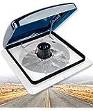 Livpow RV Roof Vent 3 Speed Reversible Manual Lift Smoke Lid
