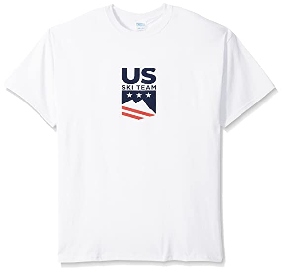 3b82bb6f849f Amazon.com  US Ski-Snowboard Licensed Apparel U.S. Ski Team Logo s tee   Sports   Outdoors
