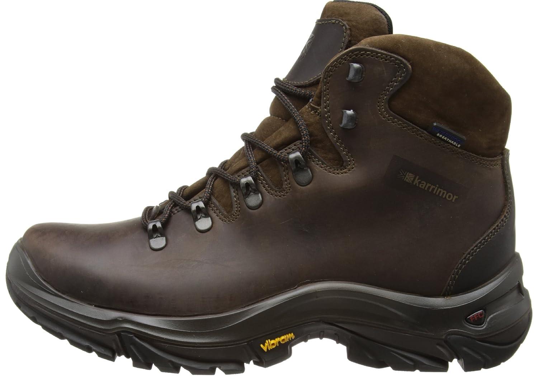 Ksb Cheviot Weathertite, Men High Rise Hiking Shoes, Brown, 11 UKKarrimor