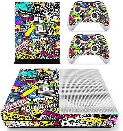 dotbuy Xbox One S Diseño Pantalla y juego de vinilo para mando de ...