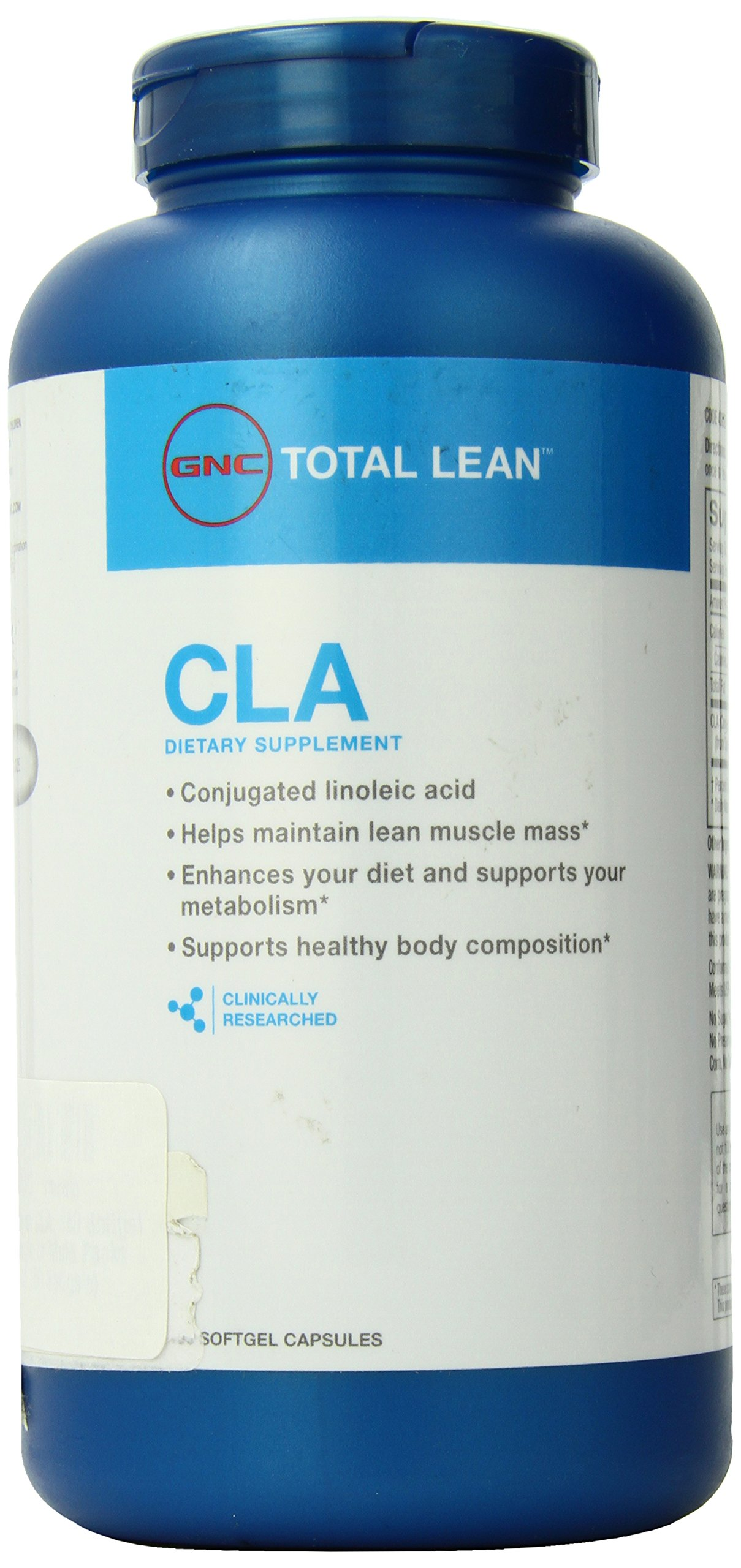 GNC Total Lean CLA 180 Softgel Capsules