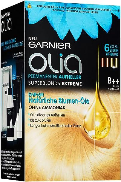 Garnier Olia B++ Super Rubios Extremos - Decolorante permanente del cabello