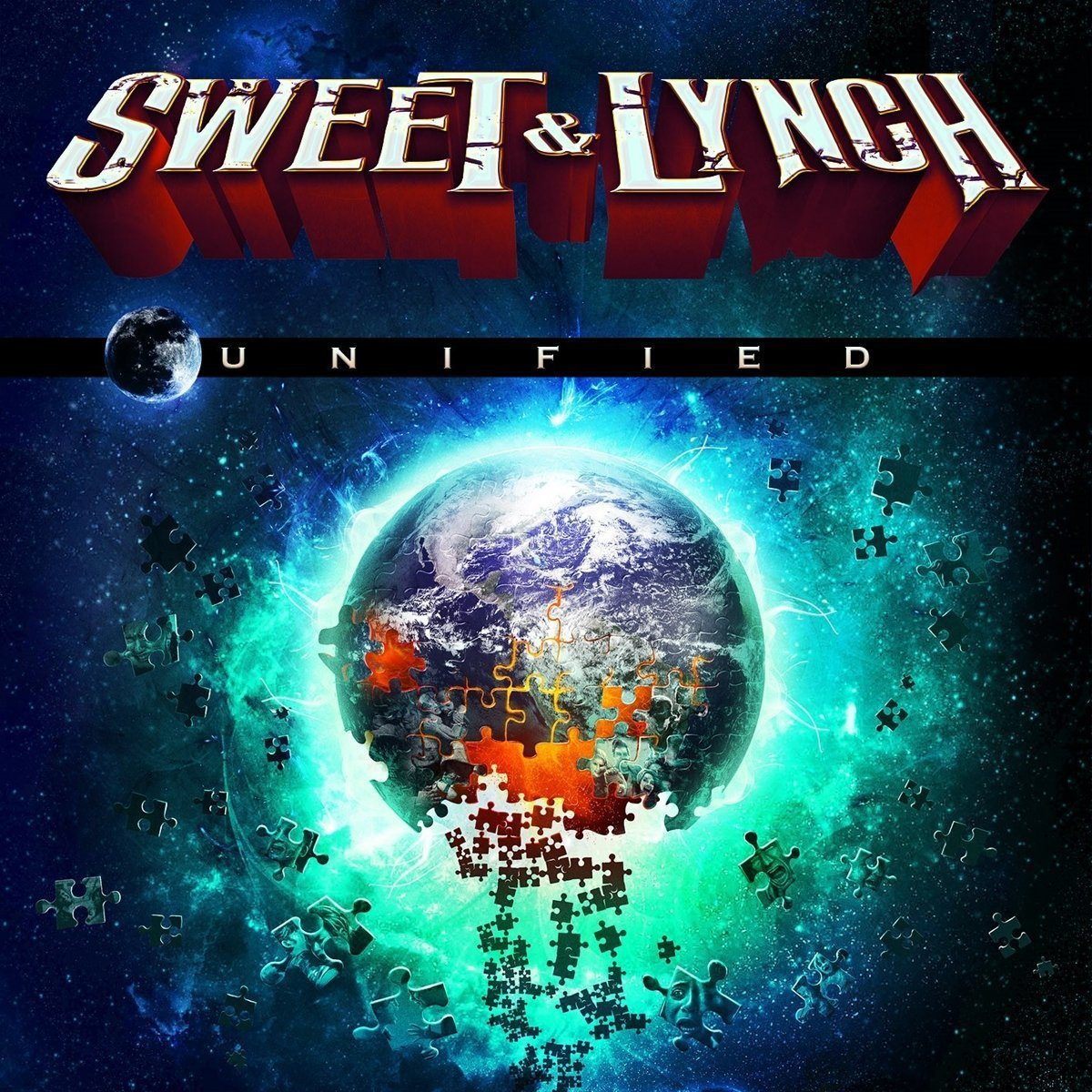 Vinilo : Sweet & Lynch - Unified (Limited Edition, Gatefold LP Jacket, Black, 2 Disc)