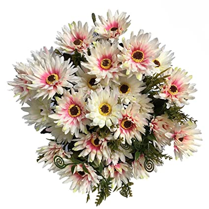 Amazon Com Lovenimen Artificial Chrysanthemum Flowers Real Touch