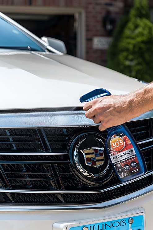 303 Quick Car Detailer with UV Protectant - High Gloss Car Cleaner and  Detailing Spray, 16 fl  oz