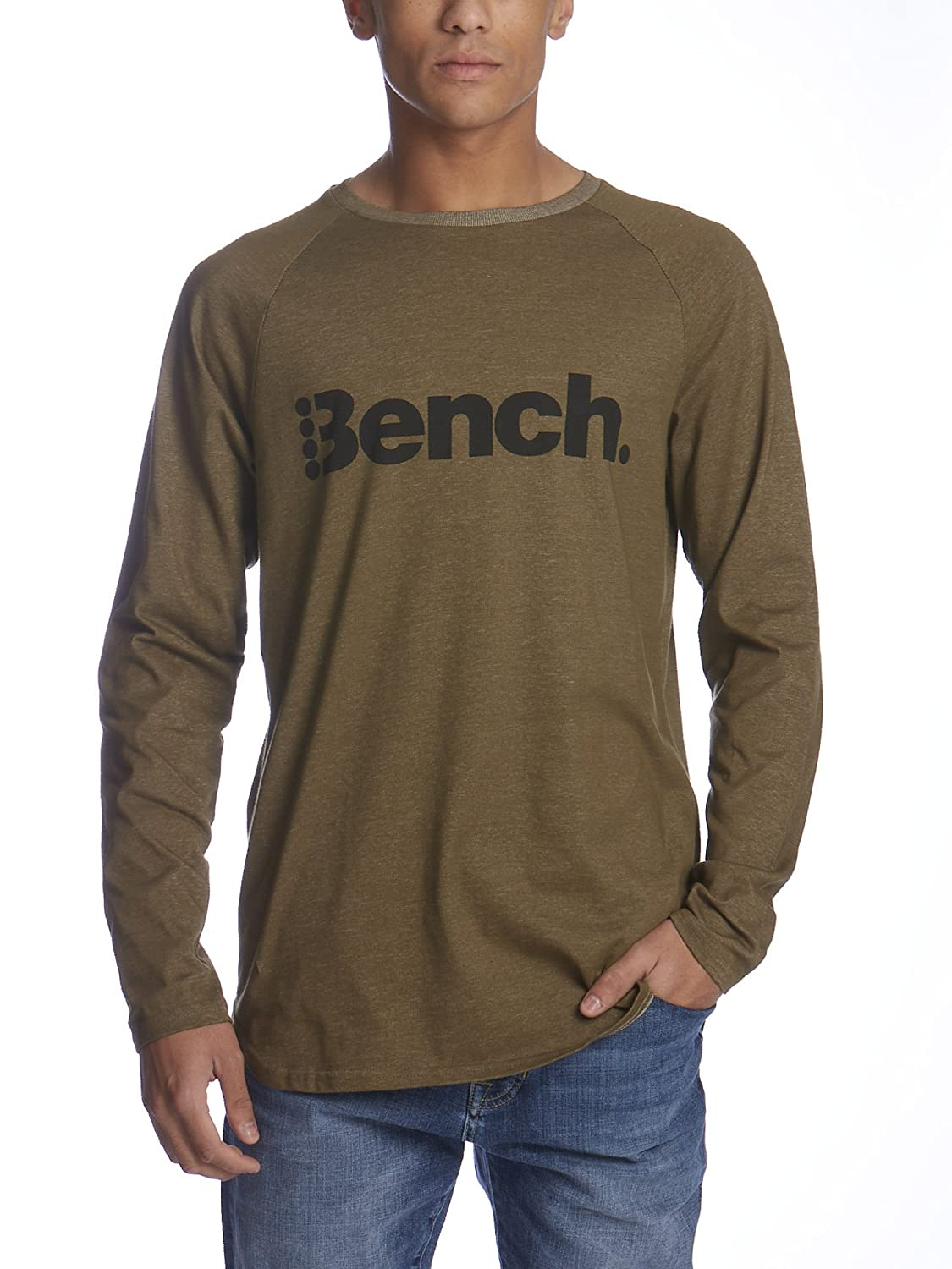 Bench, Cut Out maniche lunghe BEO2X|#Bench BMGF0163