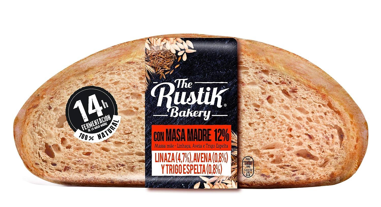 The Rustik Bakery - Hogaza masa madre, cereales y semillas, 450 g ...