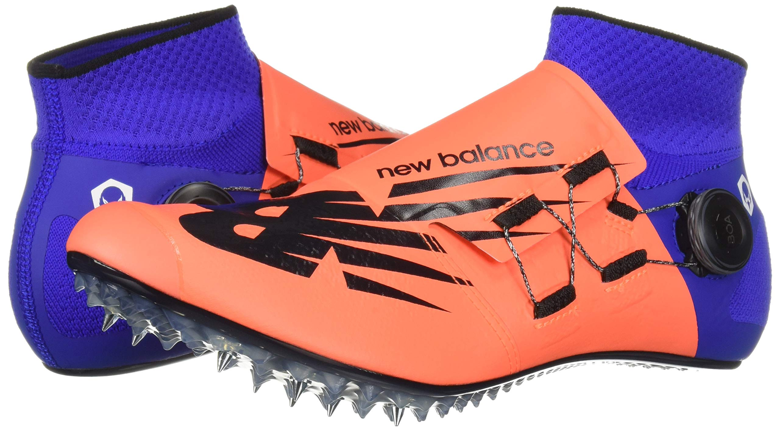 New Balance Men's Sigma Harmony Vazee Track Shoe Dark Mango/uv Blue 5 D US by New Balance (Image #6)