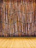 Adele728 5ft x 6.5 ft Retro Bamboo Wall Texture Backdrop Background For Photography