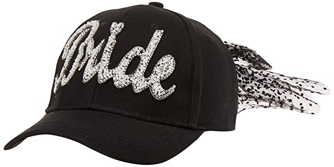 Betsey Johnson Women s Retro Bride Baseball Cap 169c771d6