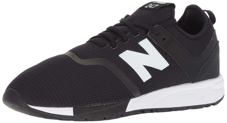New Balance 247v1, Zapatillas para Hombre 47.5 EU|Negro (Black/White D5)