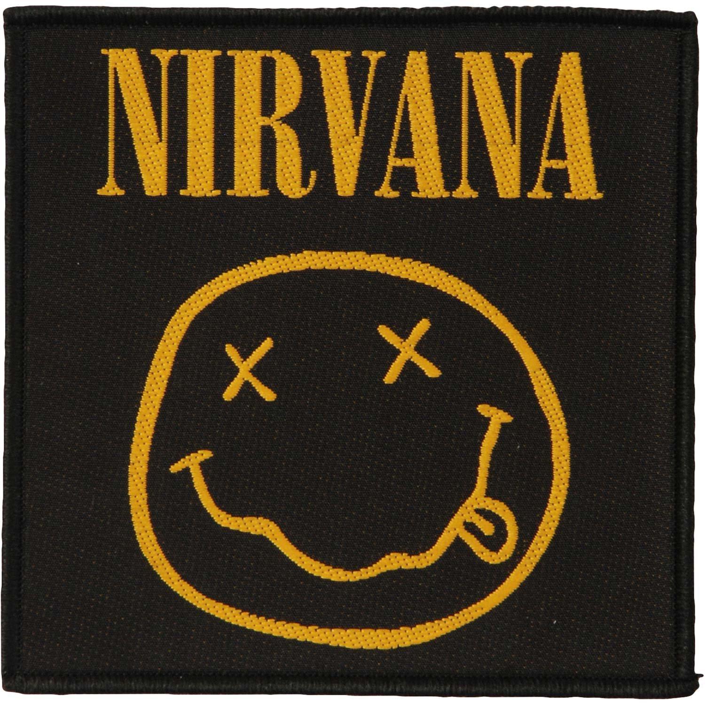 Nirvana Targhetta vivigade toppa Smiley 10 x 10 cm Grindstore
