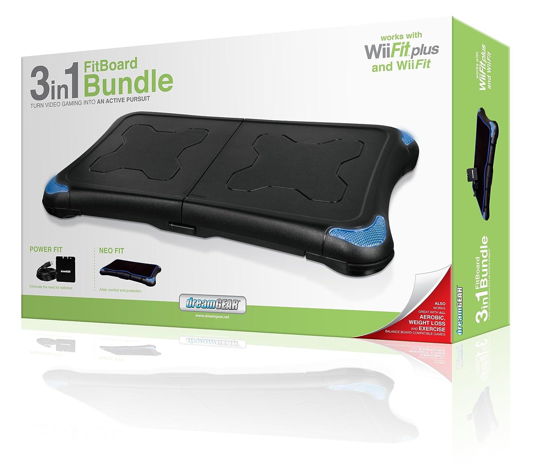 dreamGEAR 3 in 1 FitBoard Bundle for Wii Fit - cajas de ...