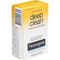 Neutrogena, Sabonete Facial Deep Clean, 80g