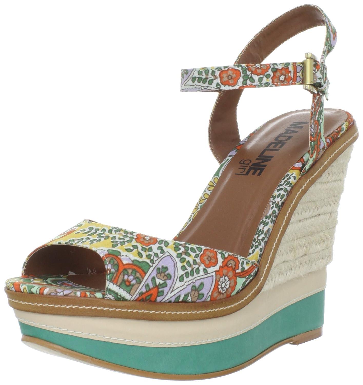 MADELINE girl Women's Marsh Ankle-Strap Sandal B006TWJSVU 10 B(M) US|Green