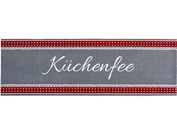 Bavaria Home Style Collection Kuchenlaufer Laufer Deko Kuchenfee Rot