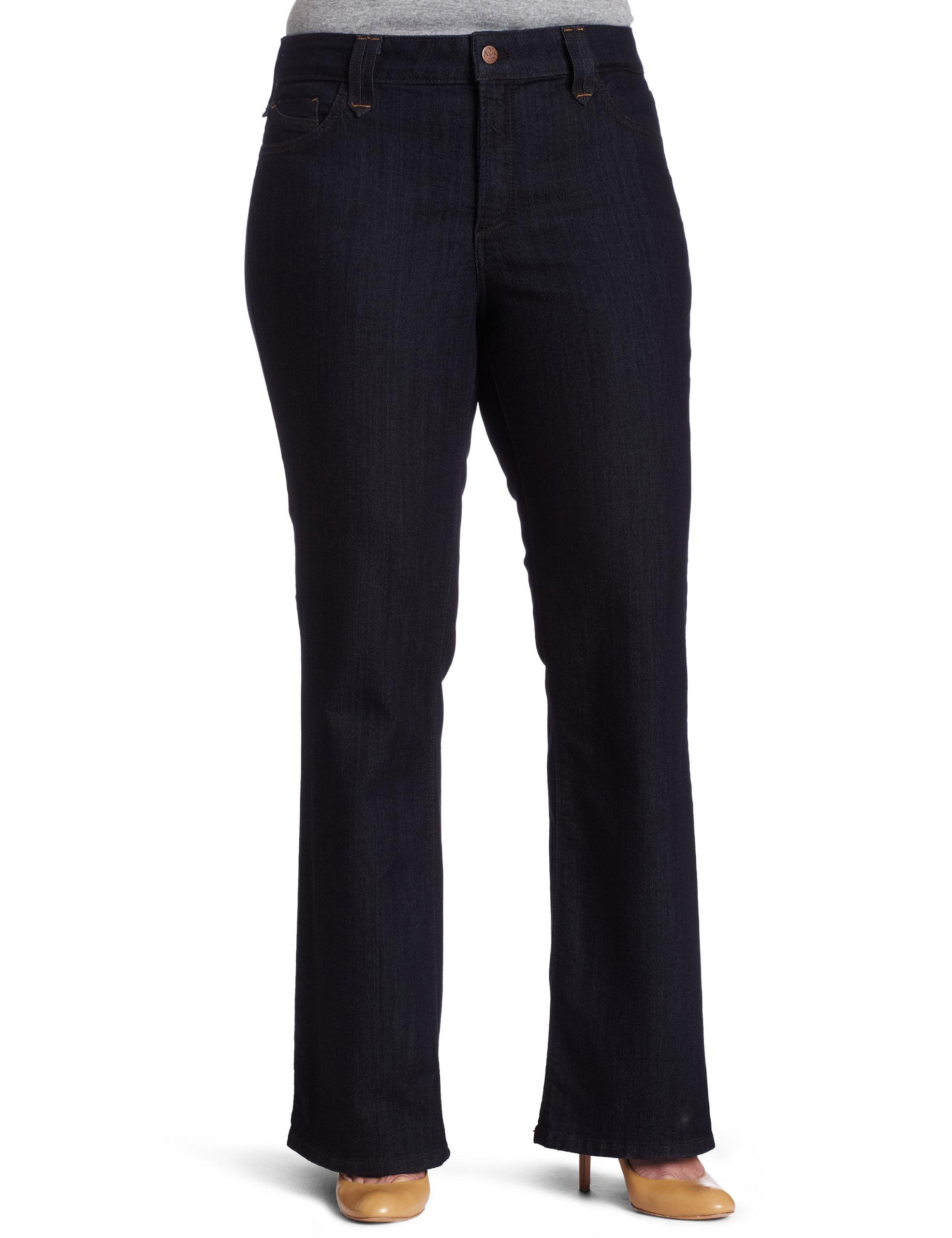 NYDJ Women's Plus-Size Hayden Modern Bootcut Jeans, Premium lightweight, 24W