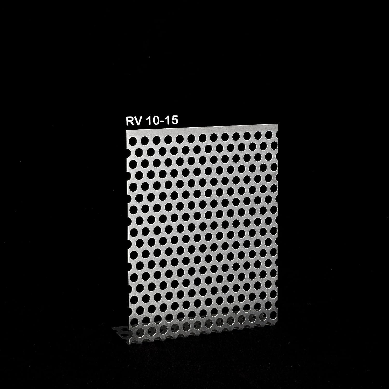 Chapa perforada de aluminio, acero galvanizado, acero ...