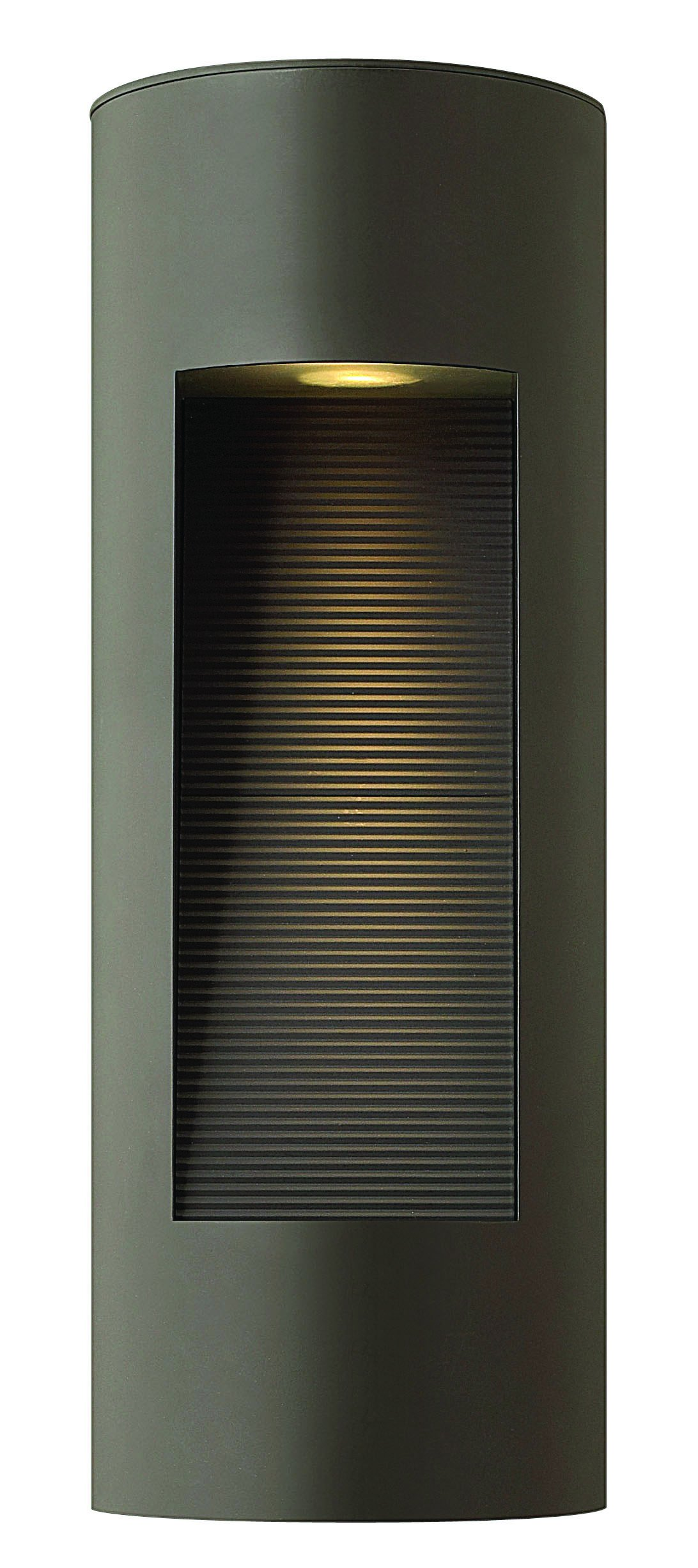 Hinkley 1660BZ-LED Contemporary Modern Two Light Wall Mount from Luna collection in Bronze/Darkfinish, by Hinkley
