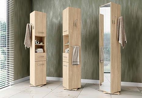 Tosend servizi sas colonna per bagno girevole su supporto con