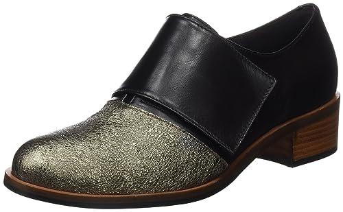 Gadea Alice, Zapatos de Tacón con Punta Cerrada para Mujer, Varios Colores (Smoke/Negro), 37 EU