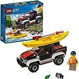 レゴ(LEGO) シティ カヤックとオフロードカー 60240 おもちゃ 車 ブロック おもちゃ 男の子