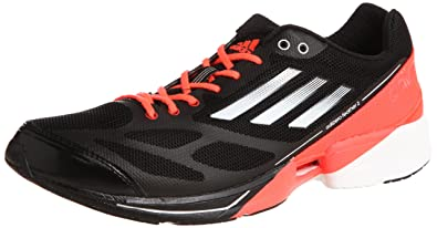 brand new 584ca a25db Amazon.com  Adidas adiZero Feather 2 M Black Infrared Sprint Web Mens  Running Shoes G61900 US size 12.5  Running