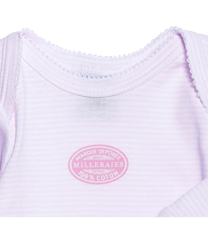 Petit Bateau Baby-M/ädchen Body Mljl Cr Miller