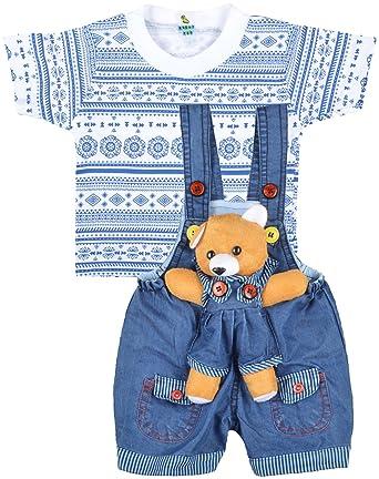 07857e0db Kuchipoo Unisex Regular Fit Cotton Dungaree  Amazon.in  Clothing ...