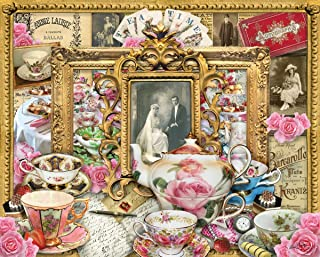 product image for Springbok's 1000 Piece Jigsaw Puzzle Tea for Two, Multi