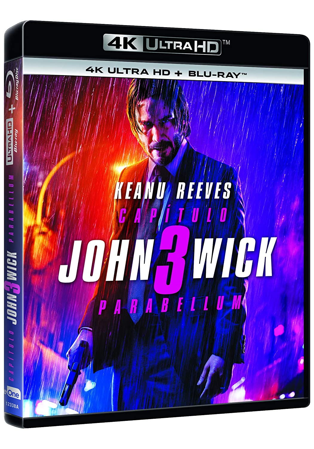 John Wick 3 Parabellum 4K Ultra HD + Blu-ray Blu-ray: Amazon ...