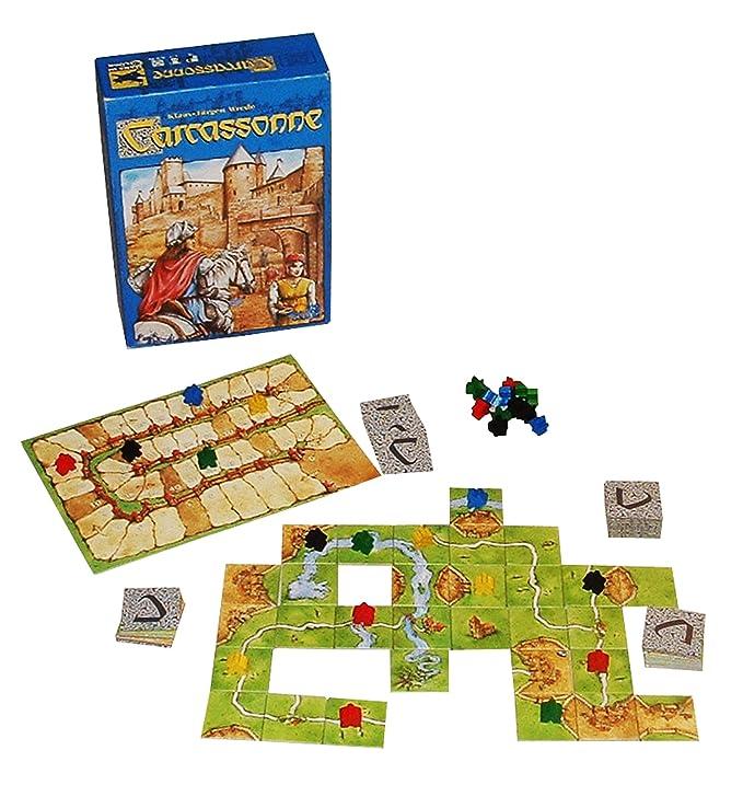 Z Man Games Carcassonne Wrede Klaus Jrgen Amazon Toys Games