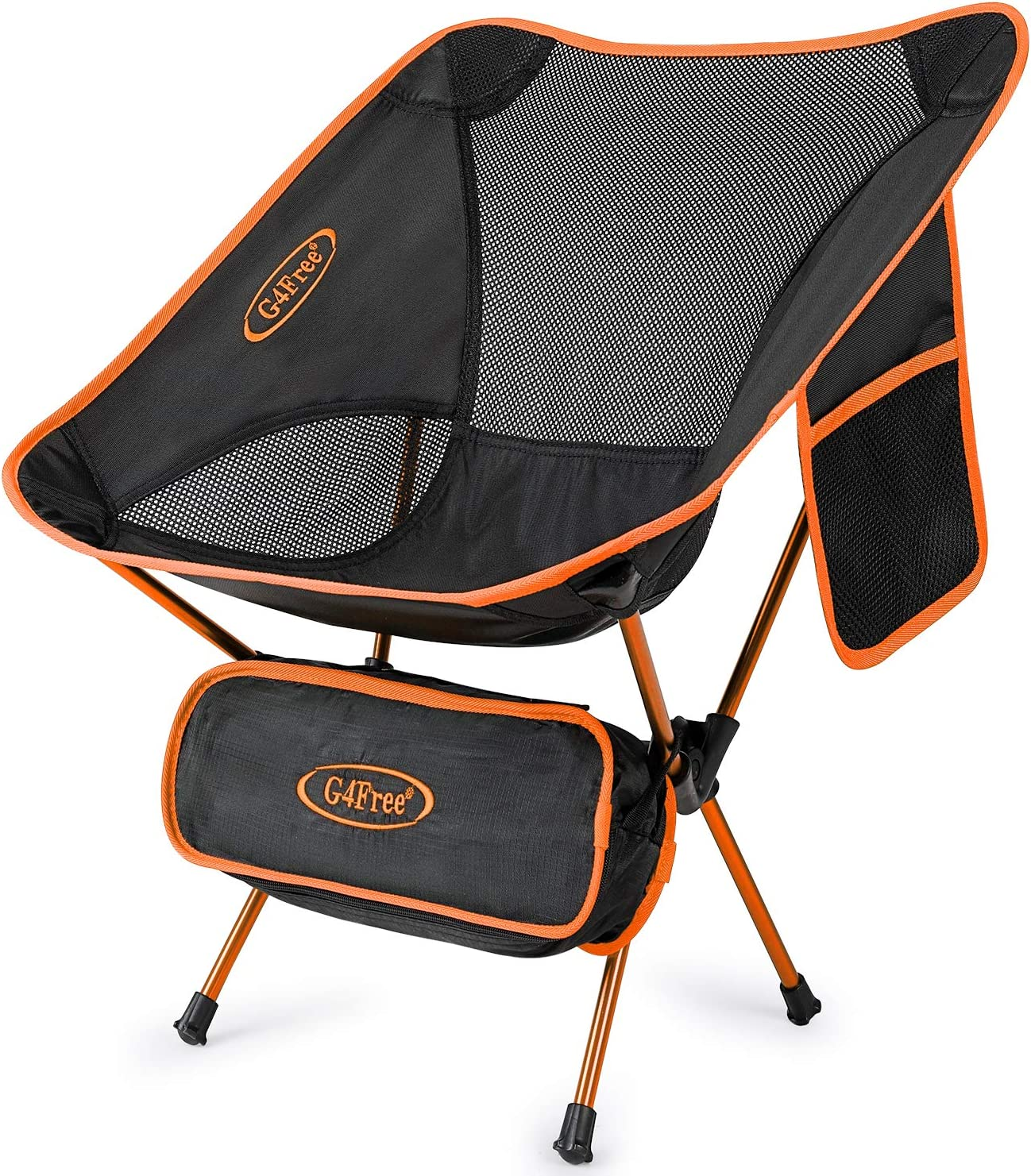 BBQ Ultralight Portable Folding Chair Compact Heavy Duty with Carry Bag for Outdoor Picnic Hiking Camp Backpacking G4Free Upgraded Camping Chairs