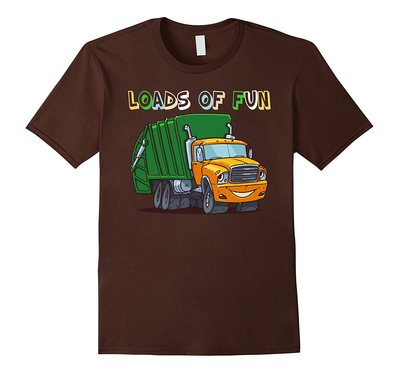 Garbage-Truck Loads Of Fun T-shirt Gift Children Kids-CD