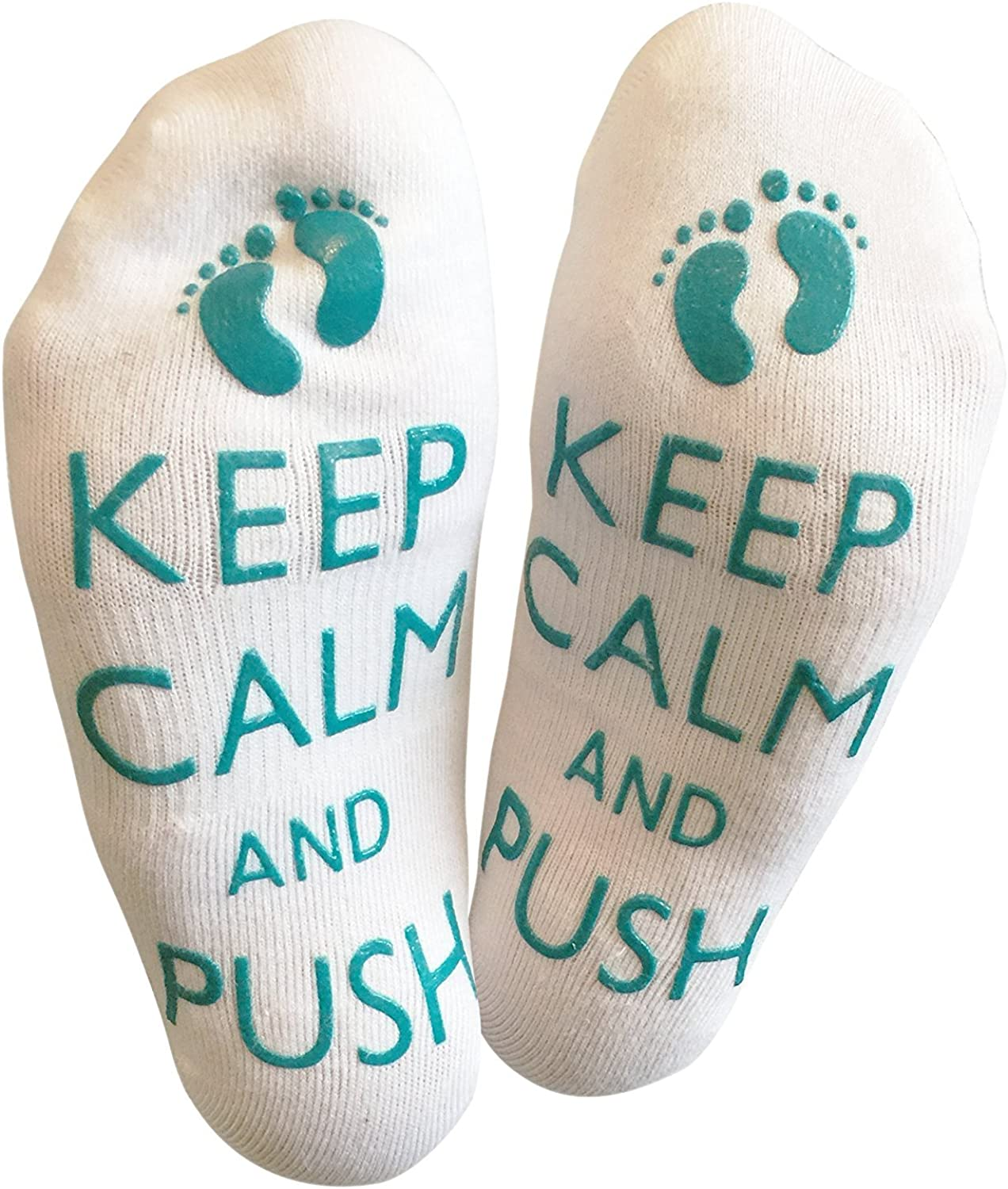 Keep Calm And Push Cute Funny Labor Birthing Delivery Socks For The Mummy To Be At Amazon Women S Clothing Store Mostly, though, this premiere is about cute pets being cute. keep calm and push cute funny labor birthing delivery socks for the mummy to be