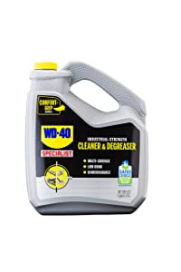 WD-40 Gray WD40 Company 300363 Specialist Degreaser Liquid 1 Gallon, 128. Fluid_Ounces