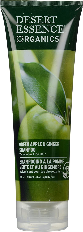 Desert Essence, Thickening Shampoo, Green Apple and Ginger, 8 oz