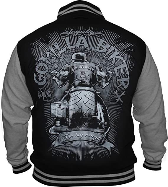 GB40 Gorilla Biker Big Wheel Herren College Jacke