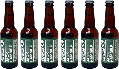 Brewdog Jack Hammer India Pale Ale, MEHRWEG (6 x 0.33 l