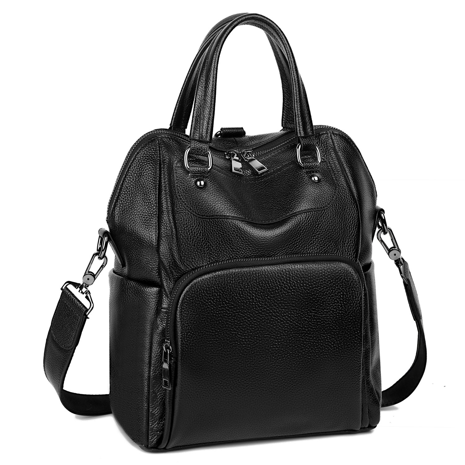 Leather Backpack for Women Women Backpack Purse Convertible Ladies Rucksack Crossbody Shoulder Bag From YALUXE