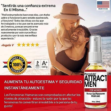 Amazon.com : FEROMONAS El Secreto PARA ATRAER HOMBRES! PODEROSAS SEXO FEROMONA HUMANAS perfume 1oz #045 : Beauty