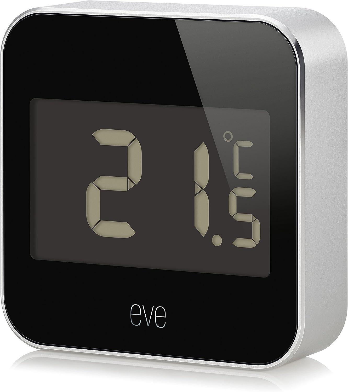EVE Degree, Capteur de température et d'humidité avec Technologie Apple HomeKit, Bluetooth...