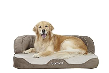 Super Icomfort Sleeper Sofa Pet Bed With Dual Action Cool Effects Gel Memory Foam Machost Co Dining Chair Design Ideas Machostcouk